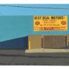 Diana Kohne Best Deal Motors LA lurban landscape painting