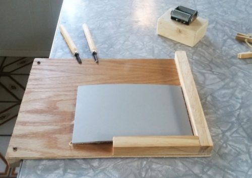 printmaking bench hook