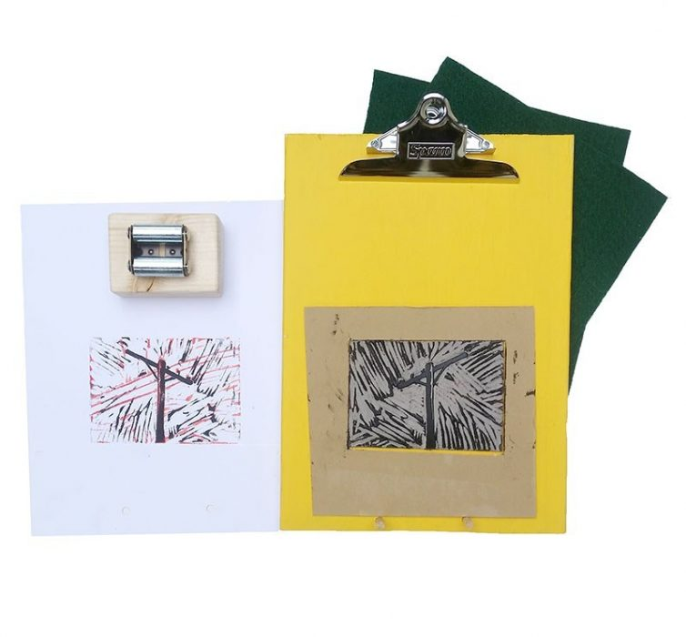 reduction printmaking